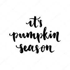 its pumpkin season hand lettering vector u2014 stock vector ksu ganz