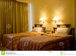 Hotel Beds Two Single Bed In A Hotel Room Stock Photos Image 2578143