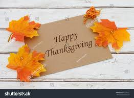 happy thanksgiving card brown card words stock photo 320513672