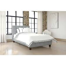 twin upholstered bedcatchy twin tufted headboard beds and