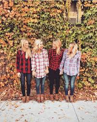fall flannel photography family photos flannels