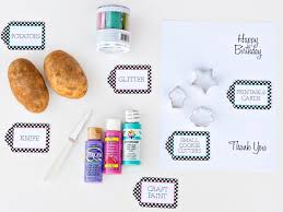 how to use a potato to make greeting cards how tos diy