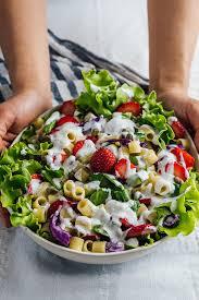 Pasta Salad Mayo by Strawberry Pasta Salad Give Recipe