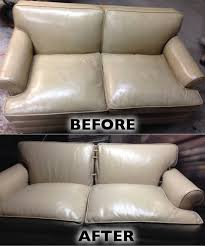Leather Sofa Restoration Leather Sofa Restoration And Color Change Leather Cleaning