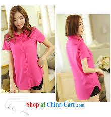 cool barbie ethnic korean version code shirt girls cotton