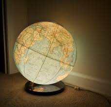 earth globes that light up 1976 national geographic world globe l light up globe with