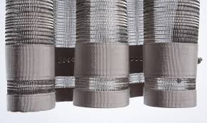 The Curtain Workroom Woven Metal Metallic Drapery Metal Curtains Contact Workroom