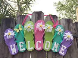 flip flop wreath happy national flip flop day celebrate w an easy diy flip flop