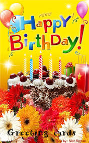 birthday greeting cards app ranking and store data app