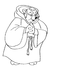 disney robin hood coloring pages 494463
