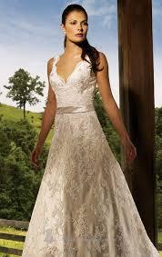 ivory lace wedding dress ivory lace wedding dress line floor length v neck dress ivory