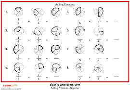 adding fractions classroom secrets