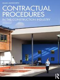 contractual procedures in the construction industry pdf