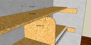 How To Build Closet Shelves Clothes Rods by Closet Shelving Layout U0026 Design Thisiscarpentry