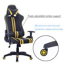 high back pc gaming office all steel computer chair ergonomic