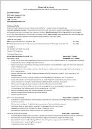 Resume For Financial Analyst  financial resume  egypt economy