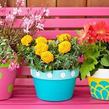 22 creative outdoor decor ideas with colorful summer flowers and