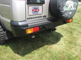 heavy duty steel rear bumper da5646 for land rover discovery 2
