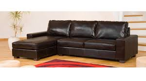 leather corner sofa leather corner sofa in black brown homegenies