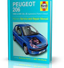 peugeot 206 1998 2001 haynes service and repair manual motobook