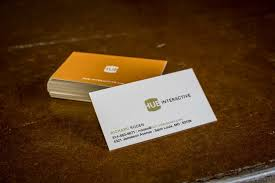 Business Cards St Louis Hub Interactive Business Cards