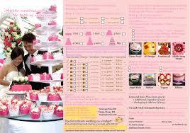 wedding cake order wedding cake order form cake business order form