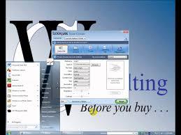 lexmark x364dn network u0026 software installation youtube