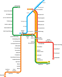 Metro Station Map by Netherlands U2013 Travel Guide At Wikivoyage
