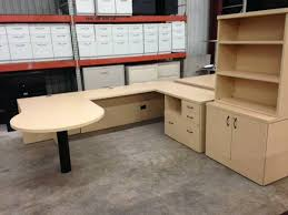 Used U Shaped Desk Used Office Furniture Officemakers