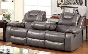 Grey Leather Reclining Sofa by Unique Art Lounge Sofa Centre Minchinbury Terrific Curved Sofa