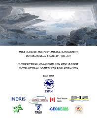 am agement petit bureau mine closure and post mining management pdf available