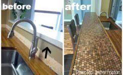 diy kitchen countertops ideas delightful stick on backsplash tiles self adhesive backsplash