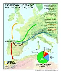 Haplogroup World Map by Dna Results From Asturias Spain Add To The Genographic Project