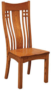 Mission Dining Room Chairs Larson Mission Dining Side Chair By Daniel U0027s Amish Wolf And