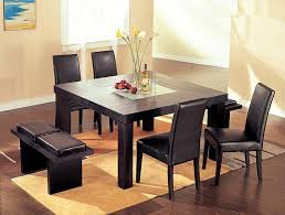 square dining table with bench 51 dining table and bench set dining room table suitable for a