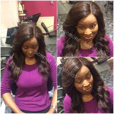 sew in with lace closure afro black hairdresser wood green weave london