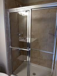Glass Shower Doors Michigan Chrome Trim And Clear Glass Shower Doors Mi Homes Shower Doors