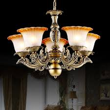 Chandelier Glass Globes Vintage 5 Light Glass Shade Kitchen Chandelier For Bedroom