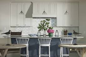 Blue Kitchen Island Green Blue Kitchen Island With Gray And White Granite Countertops