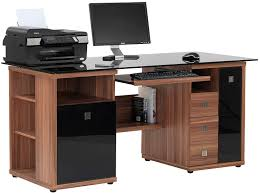 walnut corner computer desk gaming computer table flat desk 2 computer desk pc computer desk