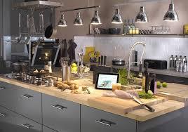 plan de travail bois cuisine cuisine quel matériau choisir pour le plan de travail