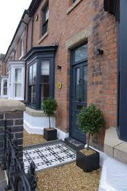 best front door victorian garden design terrace front door in farrow and ball