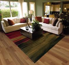 Wood Area Rug Best Patterned Area Rugs For Living Rooms On Wooden Floor L