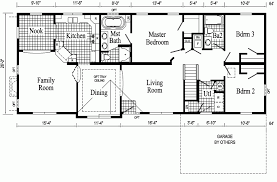 Ranch Floor Plans Open Concept Open Concept Cottage Floor Ranch Style House Plans Kitchen Modern