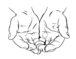 drawing cupped hands coloring pages best place to color