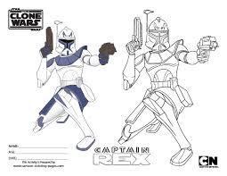 clone captain rex colouring pages gekimoe u2022 60671