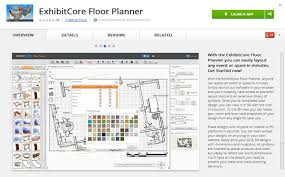 exhibitcore floor planner free and exhibitcore now available in chrome app store exhibitcore