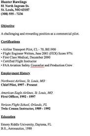 Sample Pilot Resume by Anna Marie Penniman Fredericksburg Va 22407 Anna Penniman Gmail