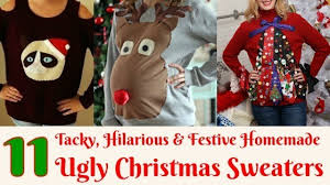 11 tacky hilarious festive sweaters