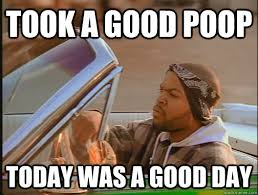 I Pooped Today Meme - took a good poop today was a good day today was a good day